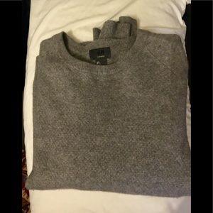 H&M Premium 100% Cashmere knit grey Sweater sz L